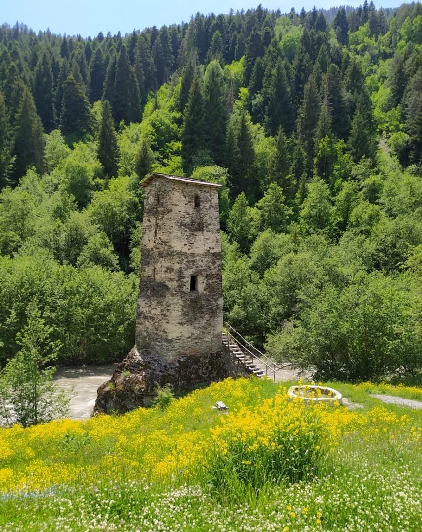 Башня любви в сванетии