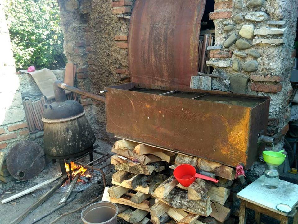 Домашняя грузинская чача