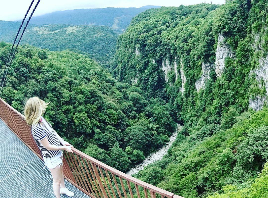 Достопримечательности Грузии каньон Окаце