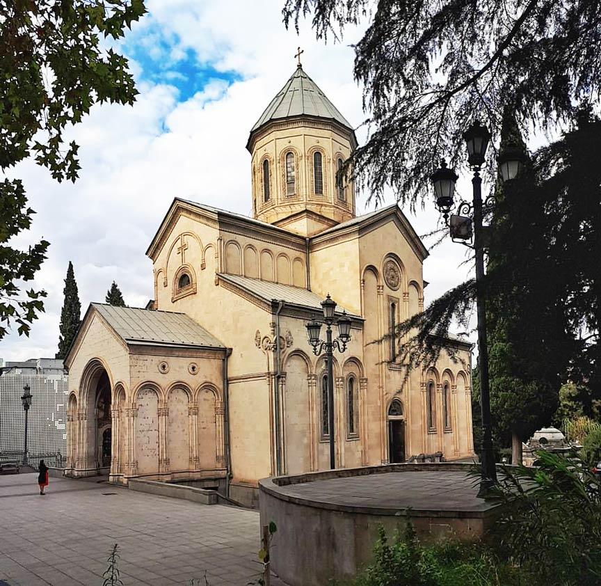 Достопримечательности Тбилиси Кашвети