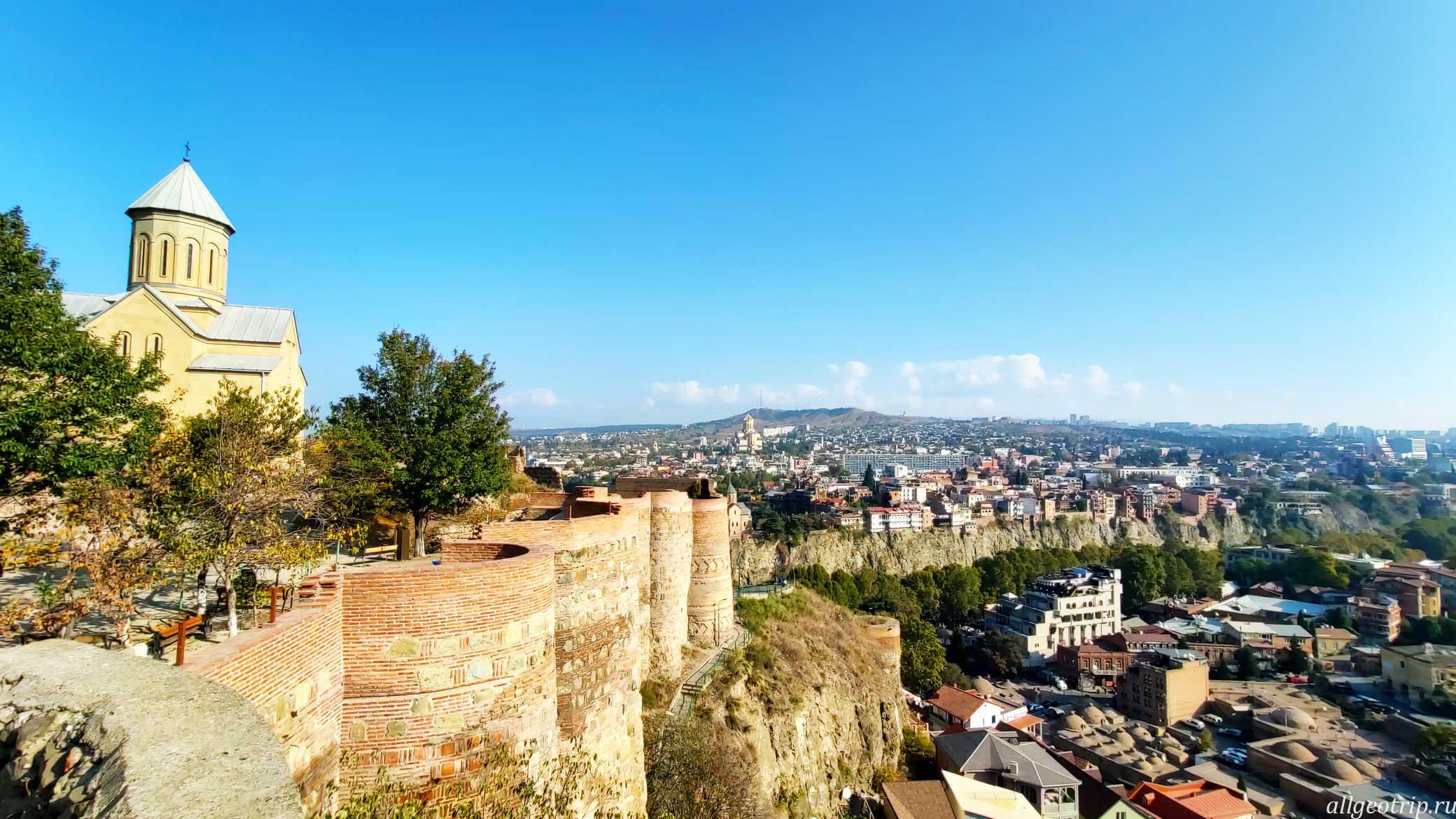 Достопримечательности Тбилиси Нарикала