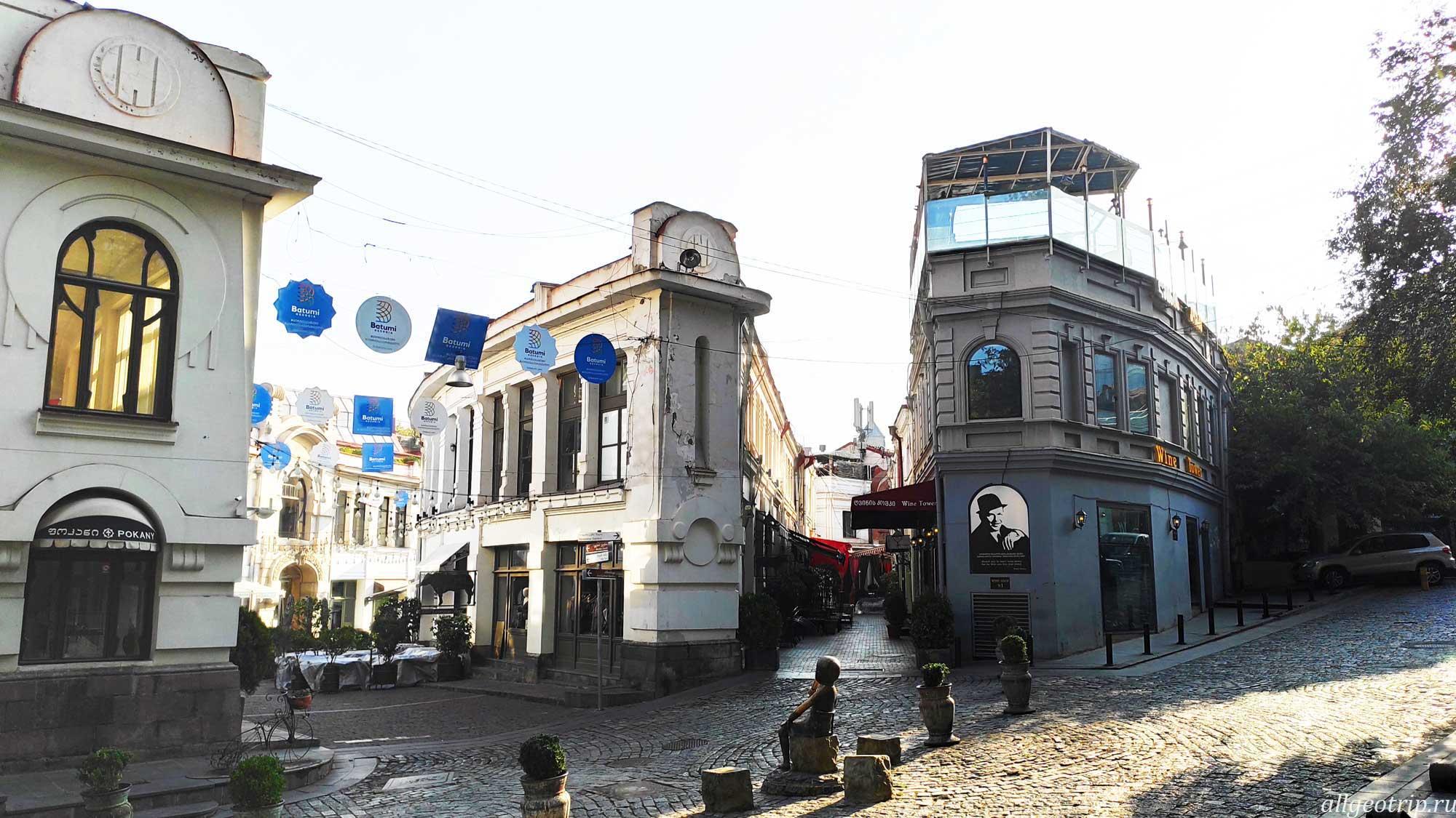 Достопримечательности Тбилиси улица Шардени