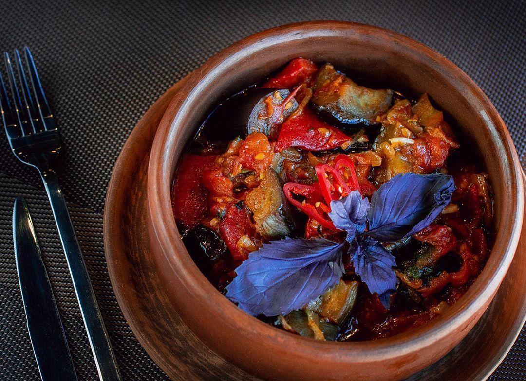 Грузинская кухня аджапсандали