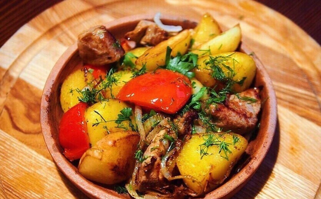 Грузинская кухня оджахури