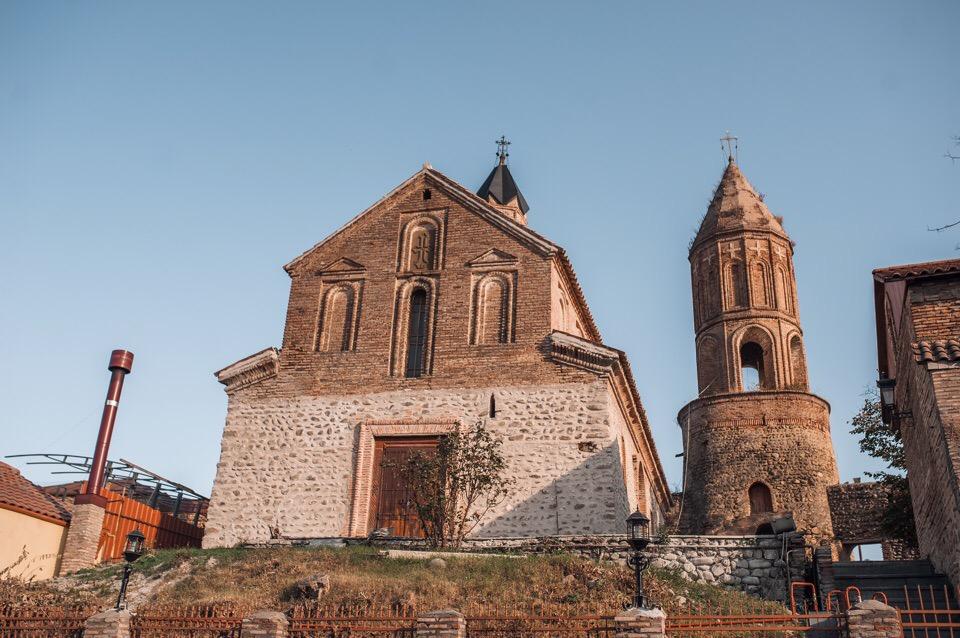 Храм святого Георгия в Сигнахи