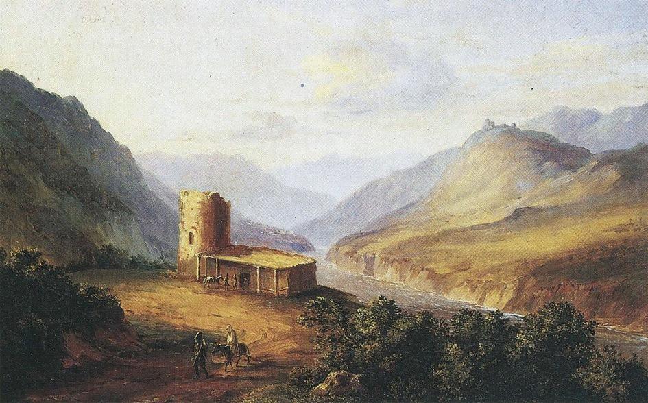 Лермонтов и храм Джвари