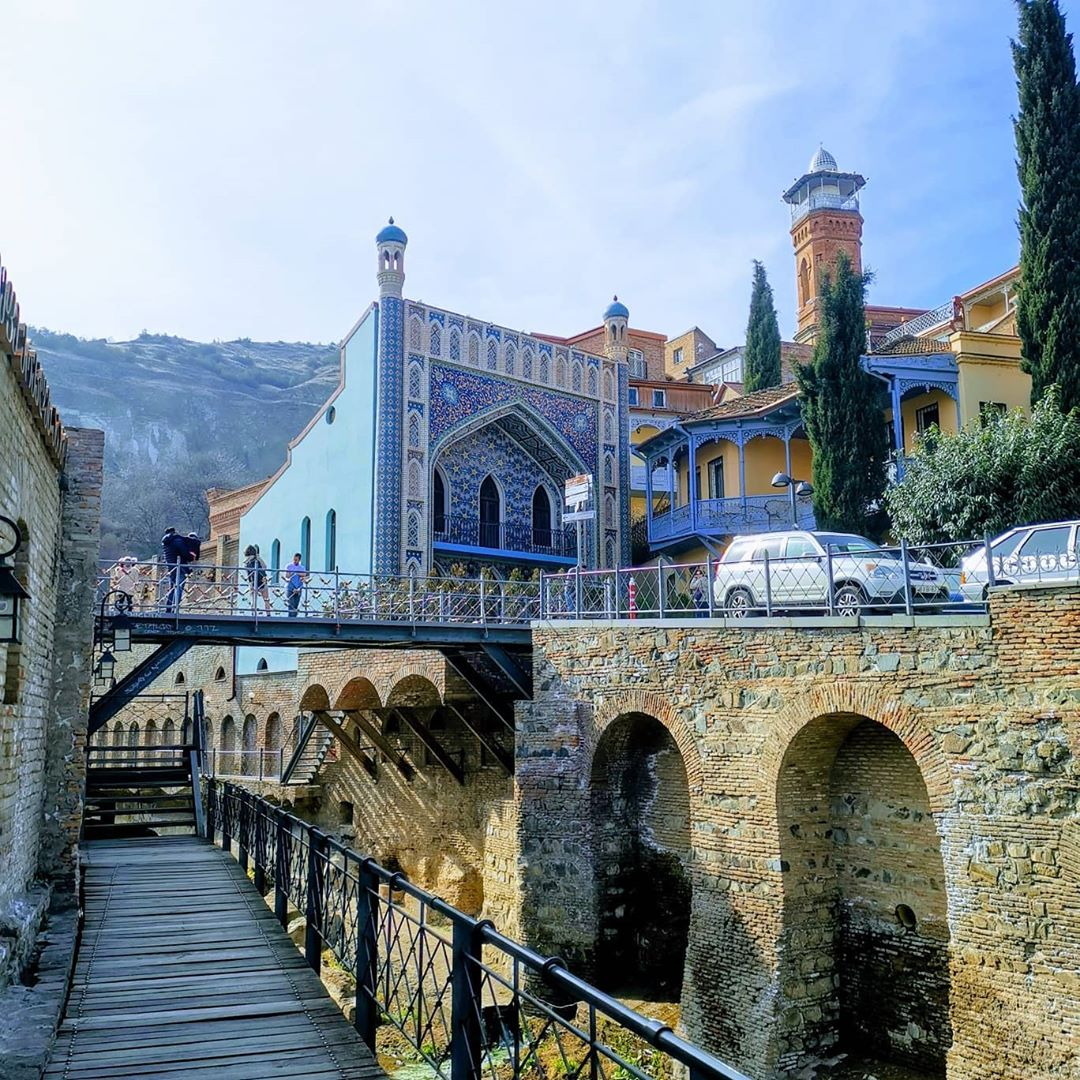 Лучшие достопримечательности Грузии Старый Тбилиси
