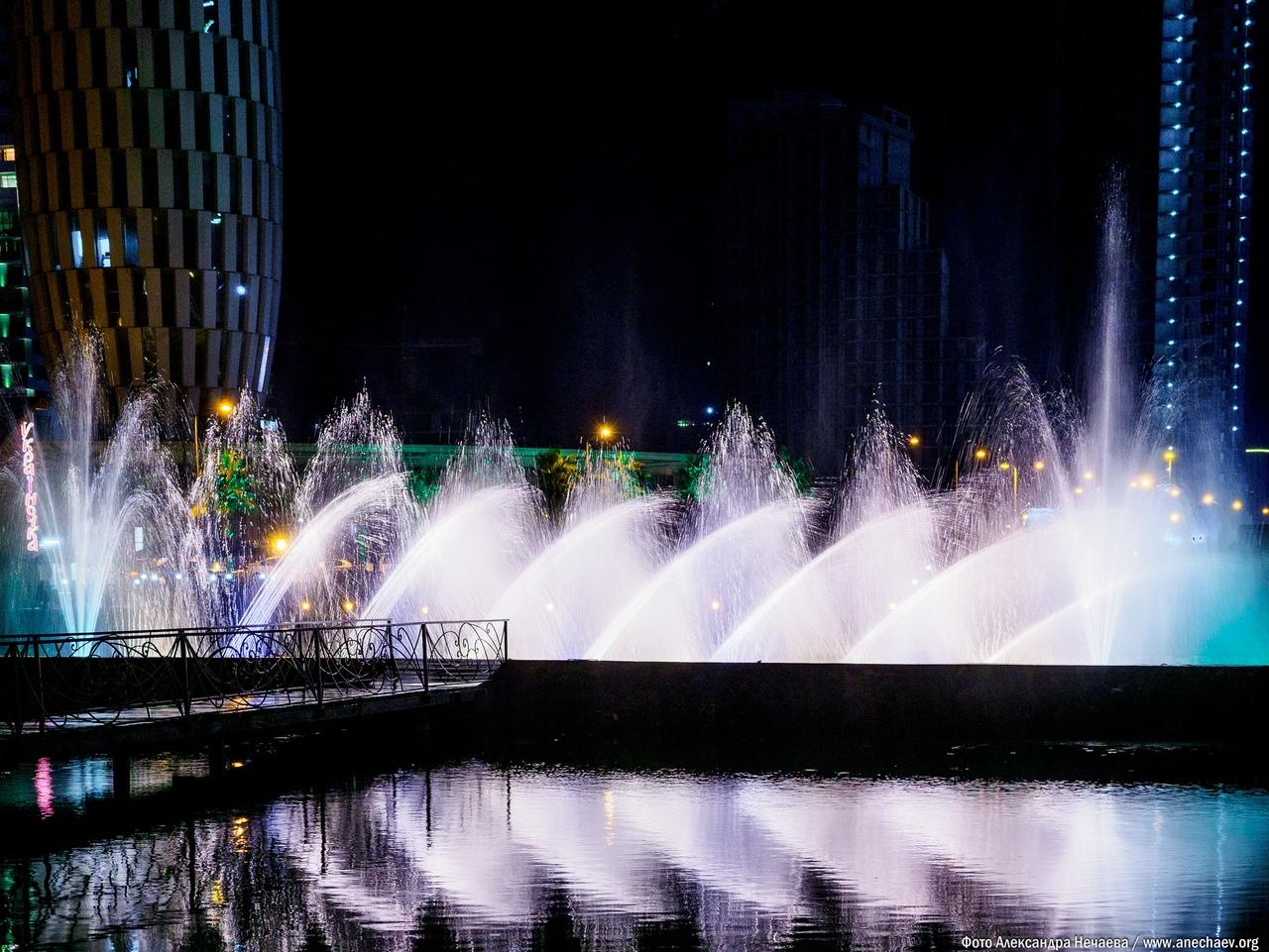 Поющие фонтаны в Батуми