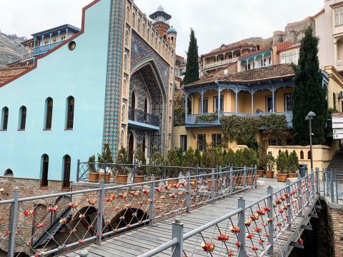 Экскурсия по городу Тбилиси