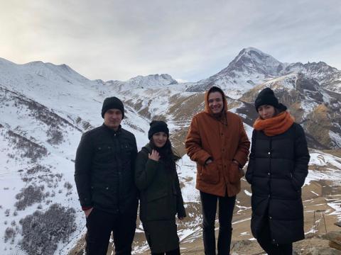 Экскурсия в Казбеги Гергети