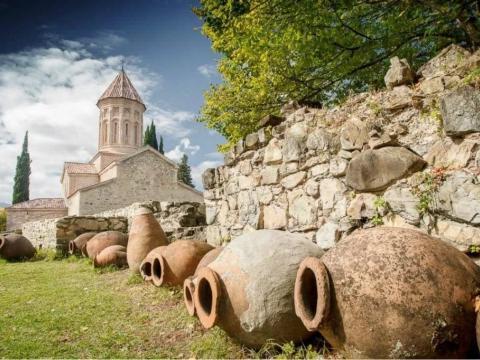 Кахетия и грузинское застолье