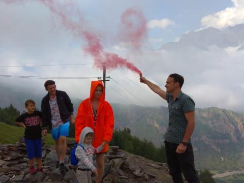 На высоте 2175 метров