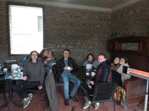 Перерыв на кофе в Сигнахи