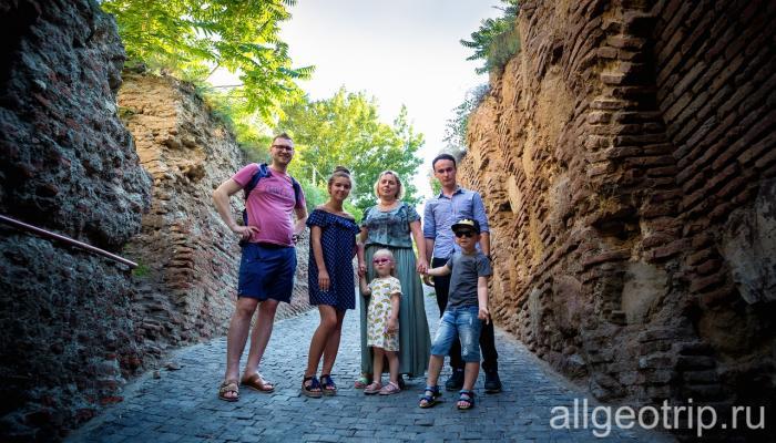 Экскурсия по Тбилиси для детей
