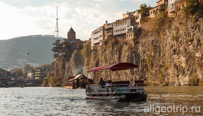 Экскурсия в Тбилиси по реке Кура