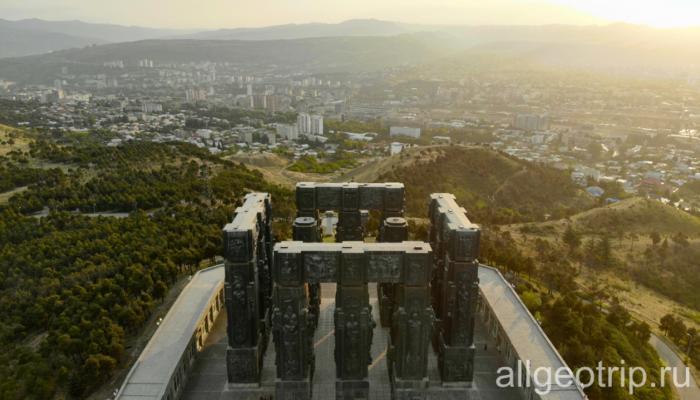 Мцхета и мемориал История Грузии