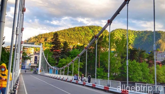 Мост в Боржоми