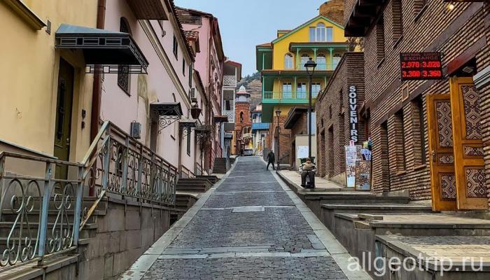 Первое знакомство с Тбилиси