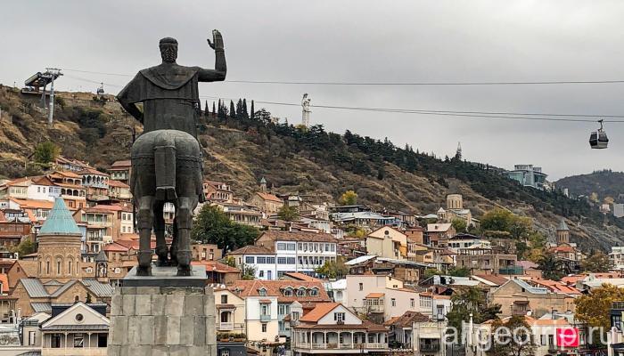Прогулка по Старому городу Тбилиси