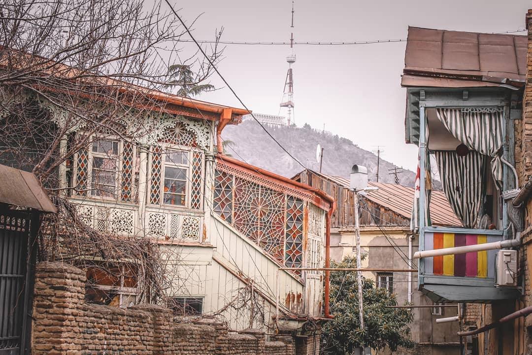 Район Тбилиси Старый Тбилиси